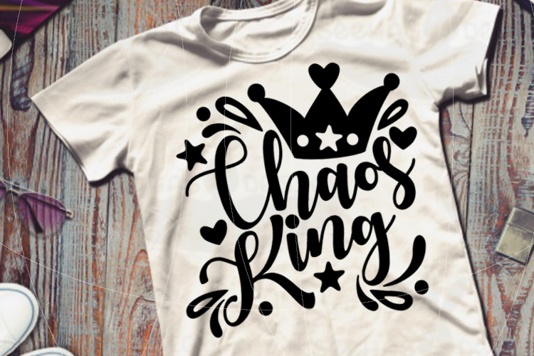 Chaos King SVG PDF EPS example image 4