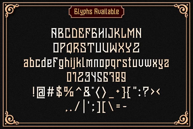 Banten Unfamous 2 - 3 Fonts example image 3