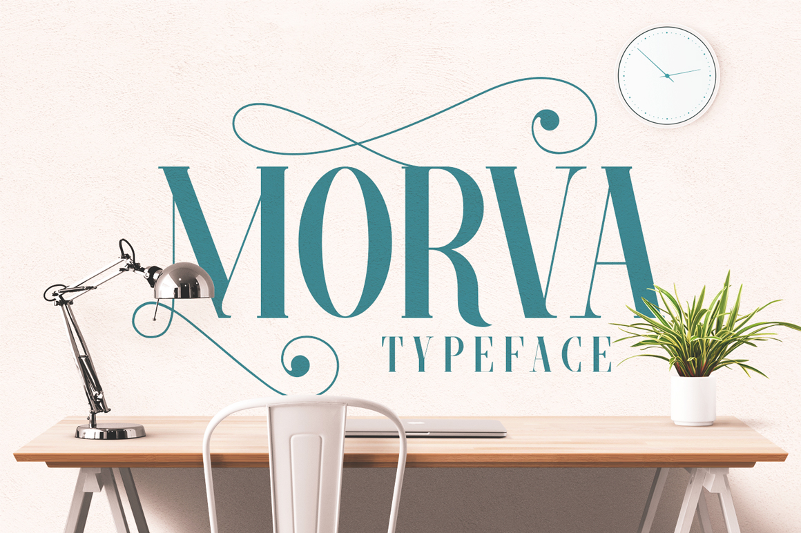 MORVA Typeface example image 1