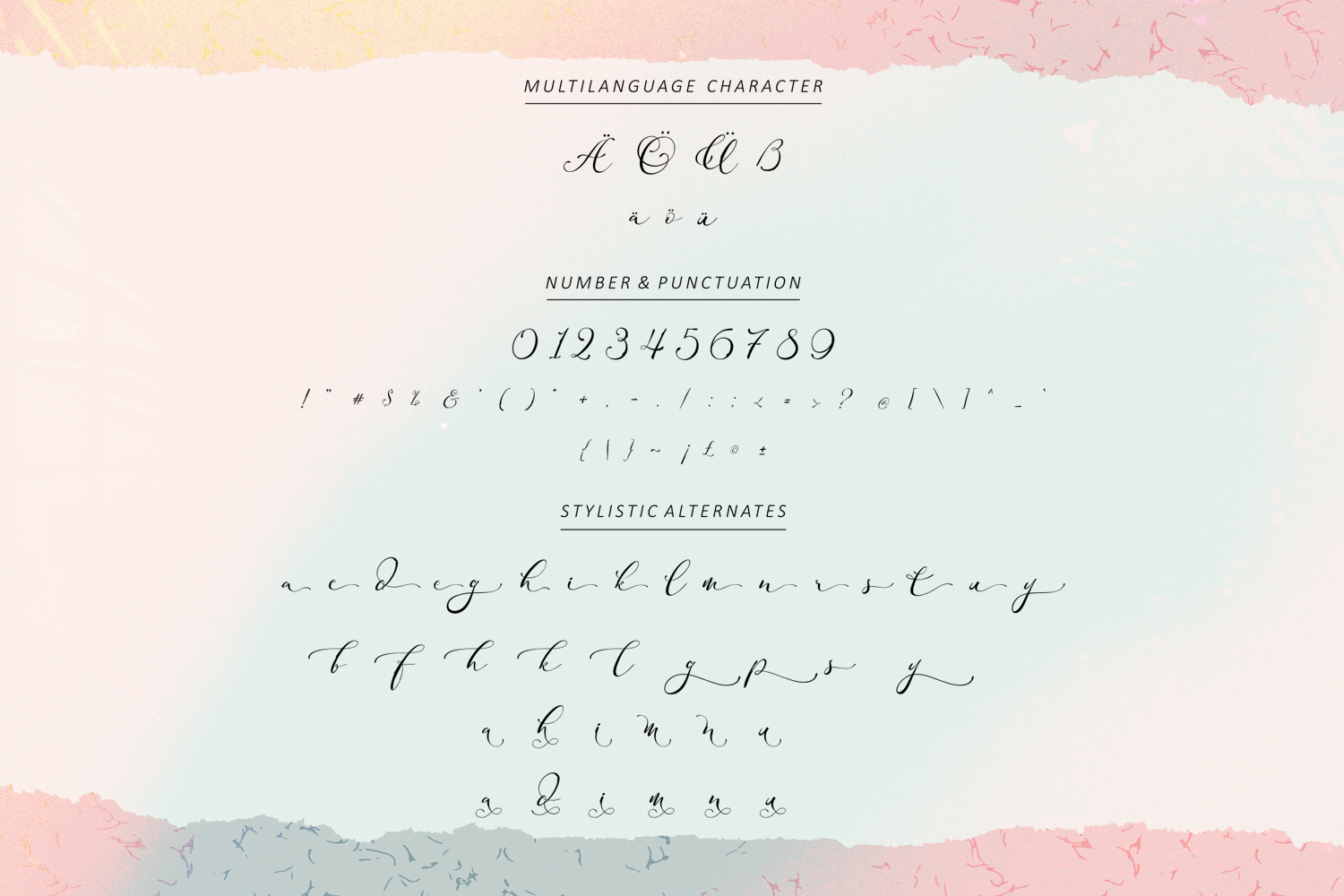 Adonessia Font example image 10