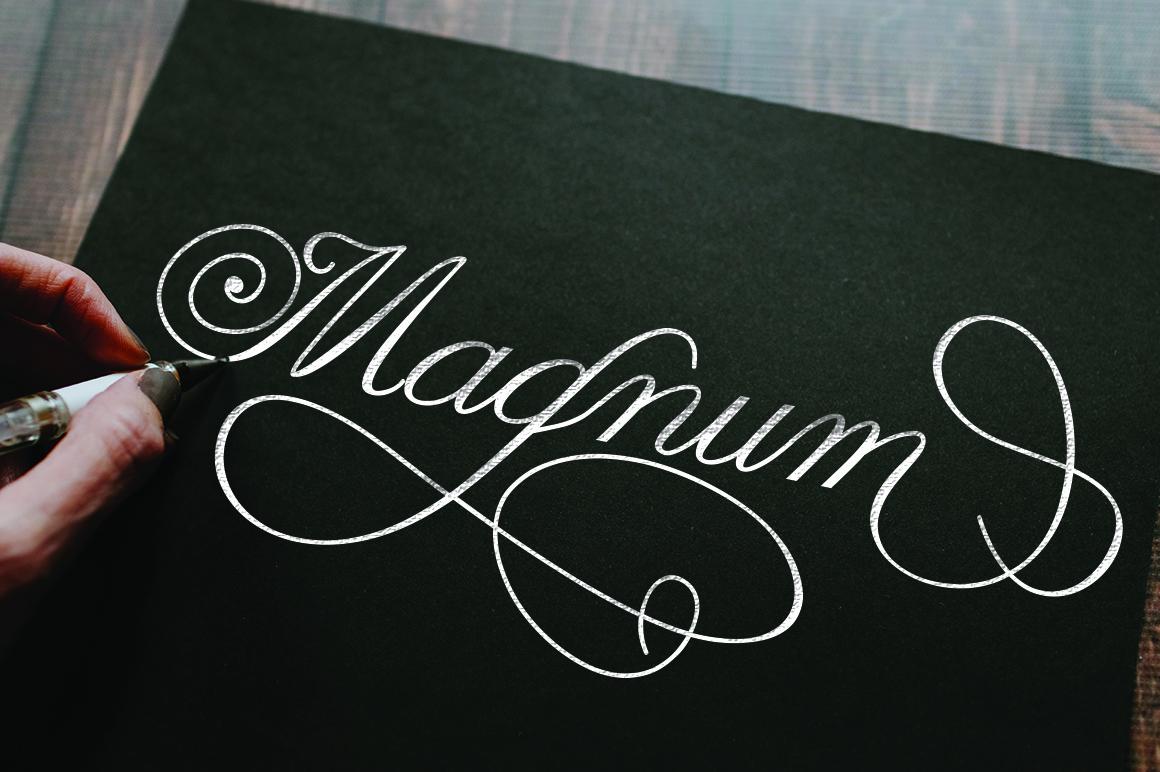 Claudia Calligraphy example image 3