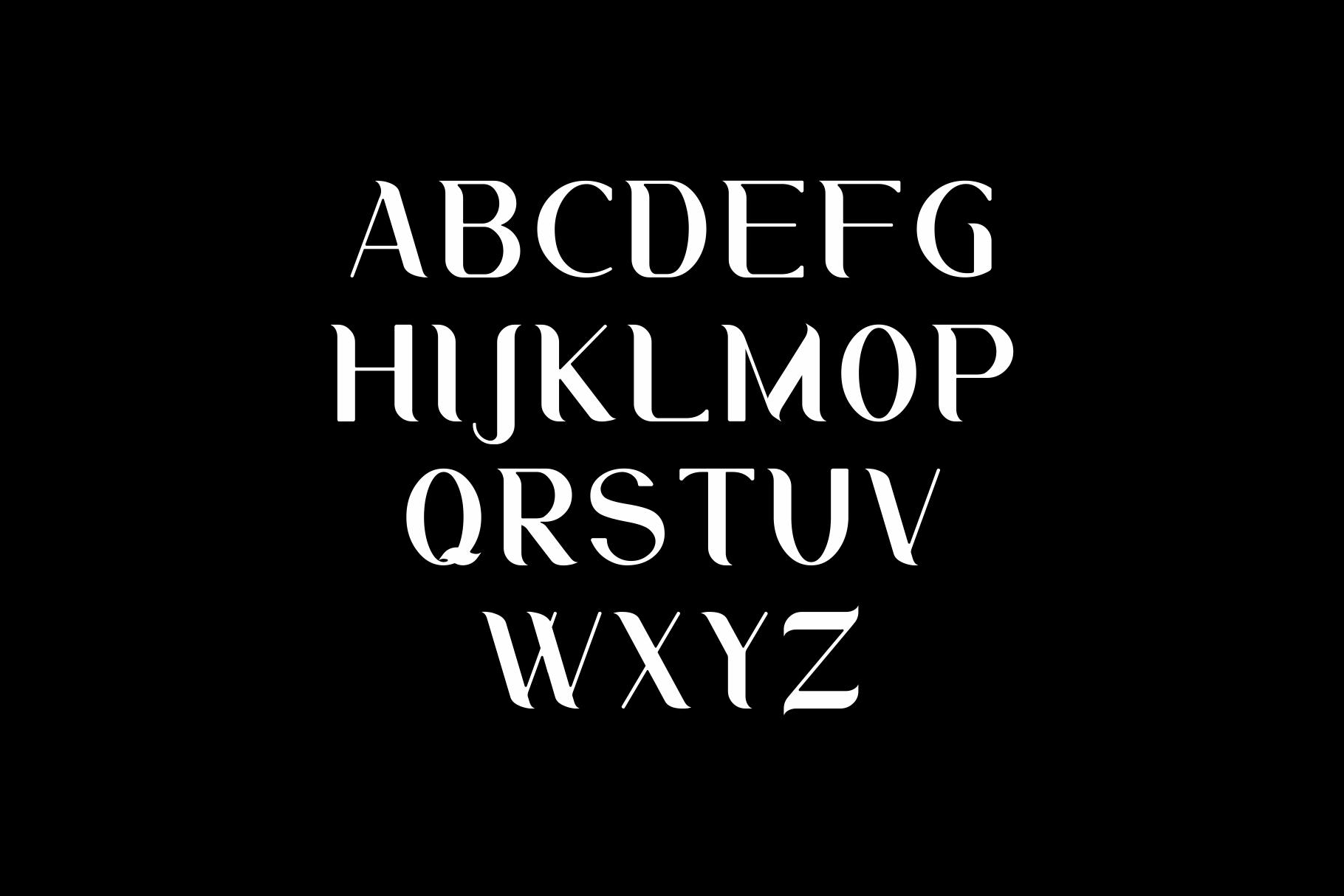 Aurum. Elegant Sans Serif typeface. example image 6