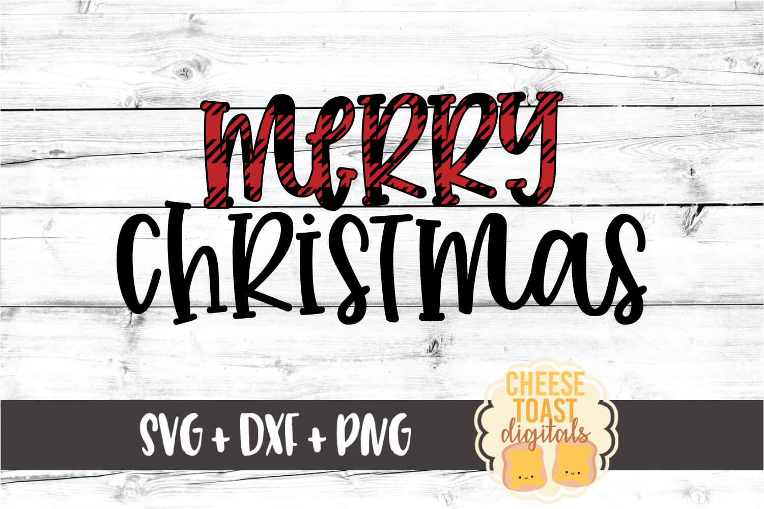 Merry Christmas - Holiday SVG PNG DXF Cut Files example image 2
