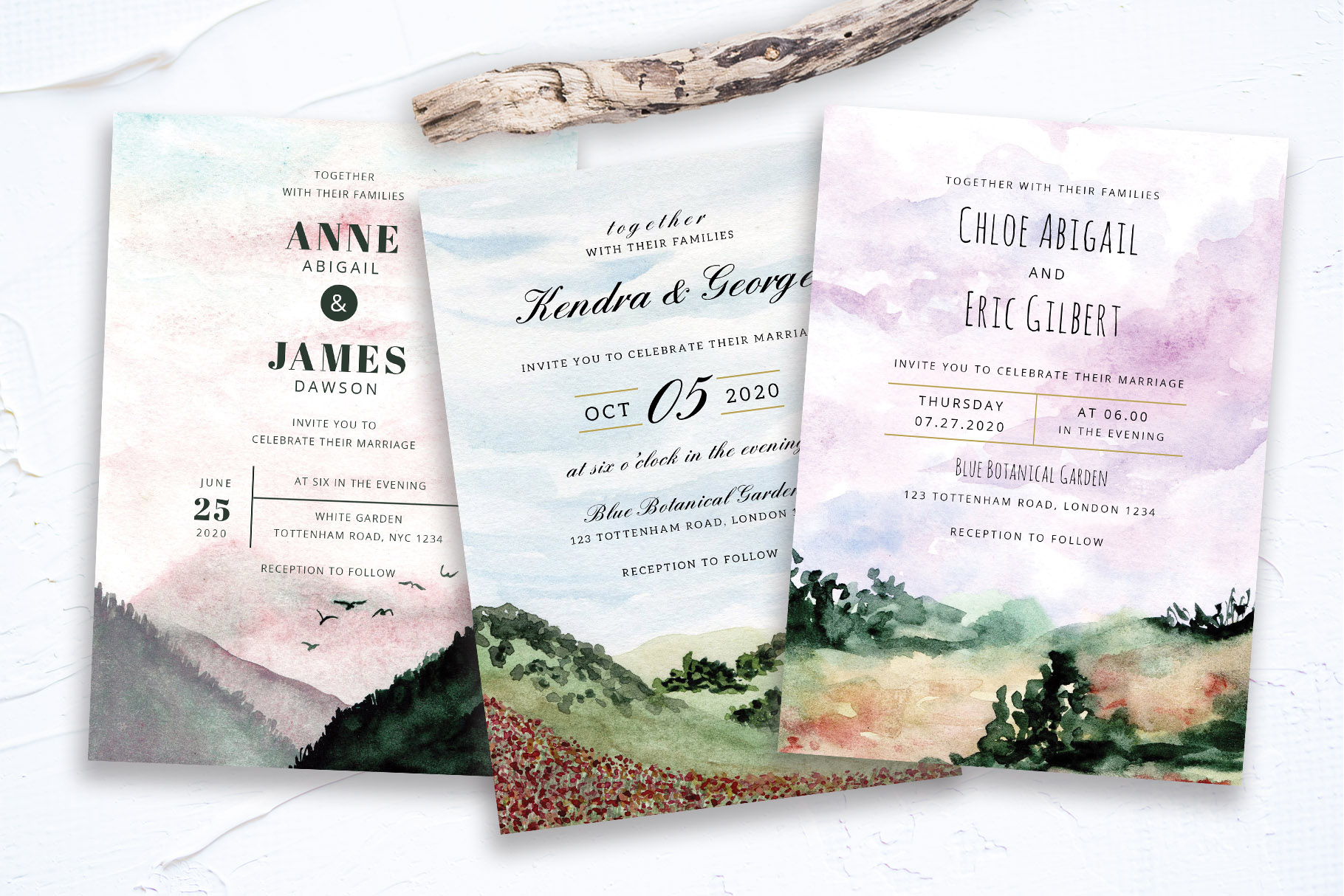 Landscape Wedding Collection example image 1