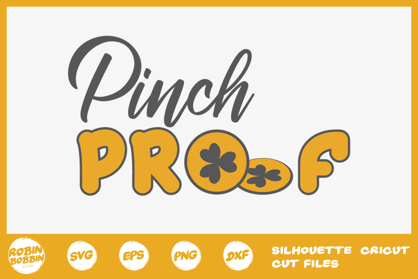 St. Patricks Day SVG, Pinch Proof SVG, Crafters SVG example image 1