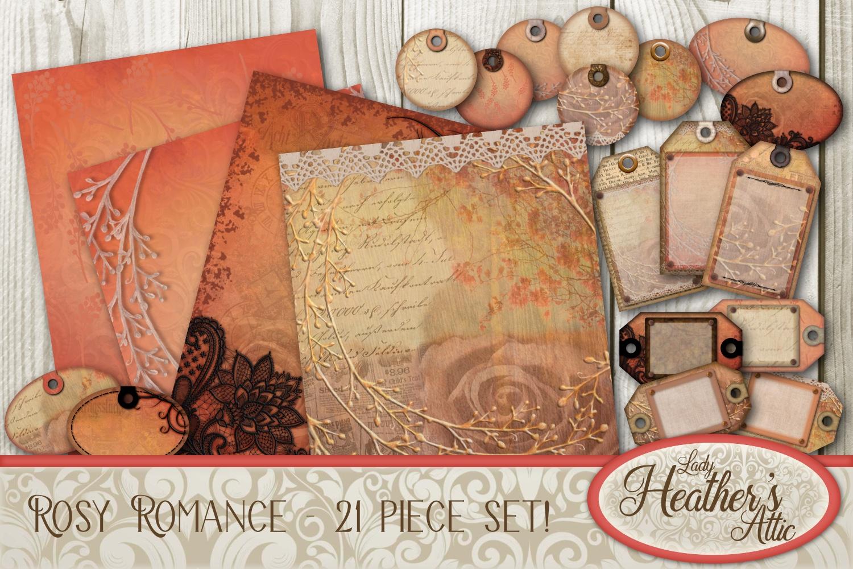 Rosy Romance - 21 Piece Bundle example image 1