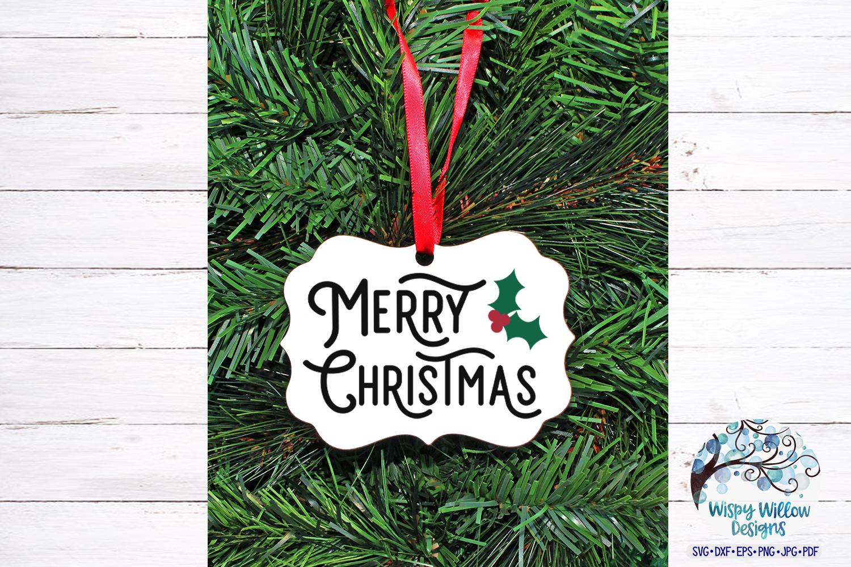 Merry Christmas SVG   Retro Christmas SVG File example image 4