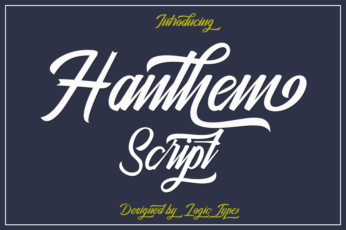 Hanthem Script example image 1