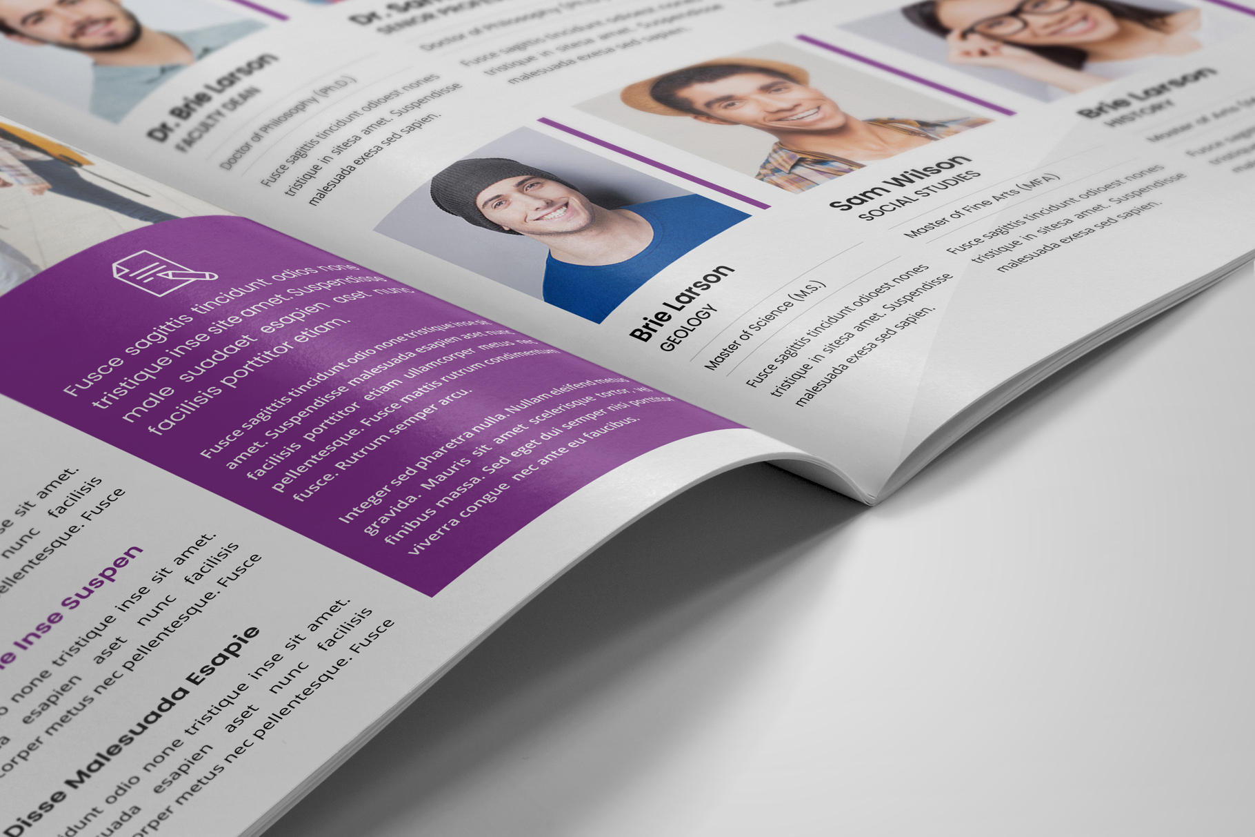 Education Prospectus Brochure v7 example image 5