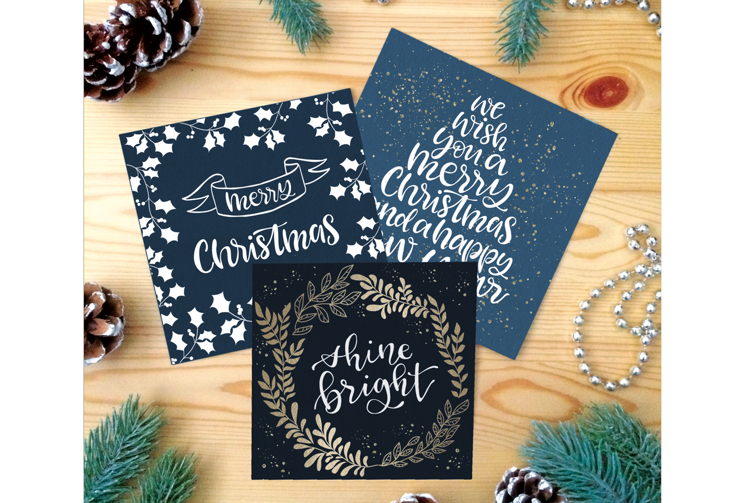 Christmas Collection - words, illustrations, ornaments example image 5