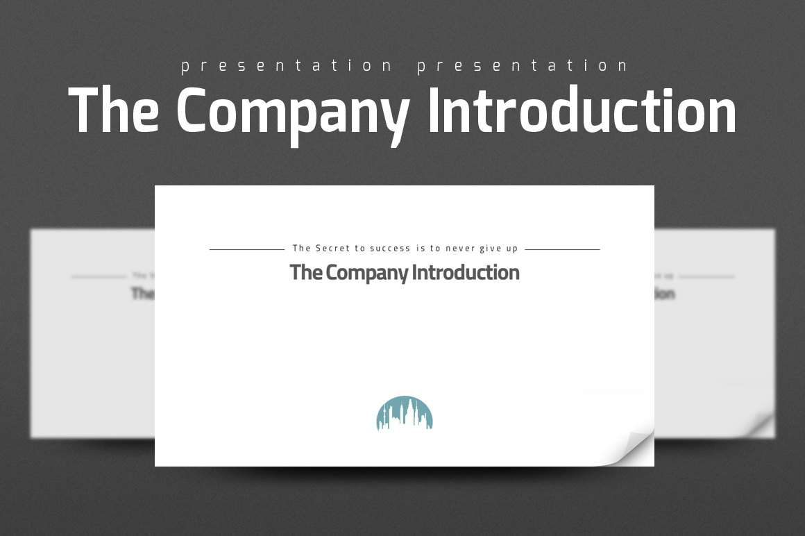 Company Introduction Presentation example image 1