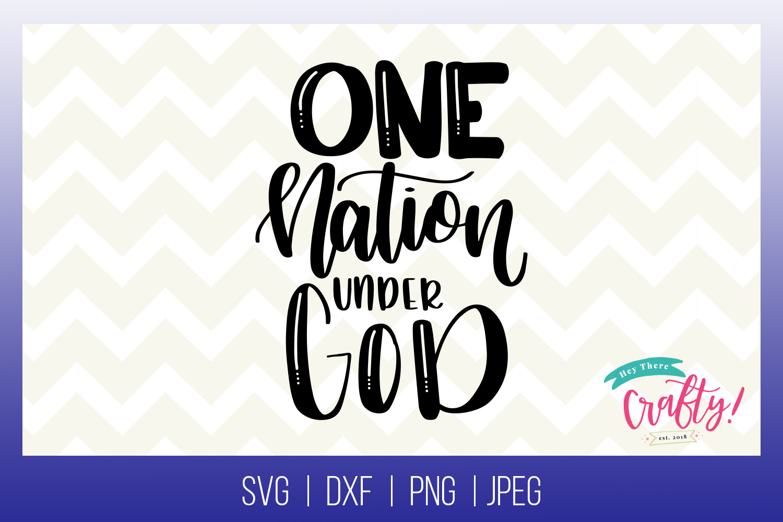 One Nation Under God | Digital File example image 1