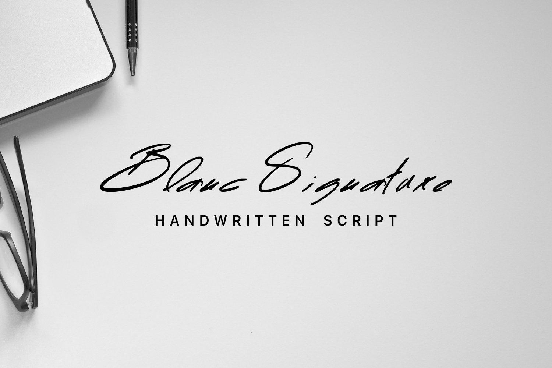Blanc Signature example image 1