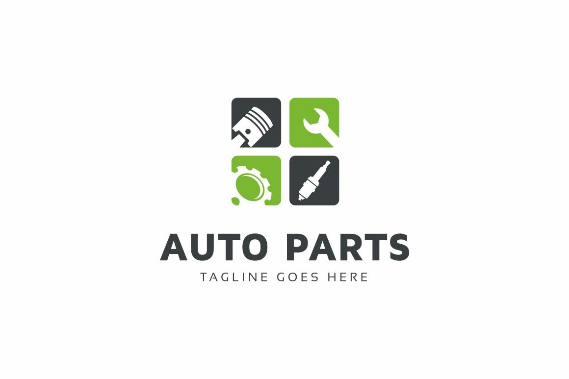 Auto Parts Logo example image 1