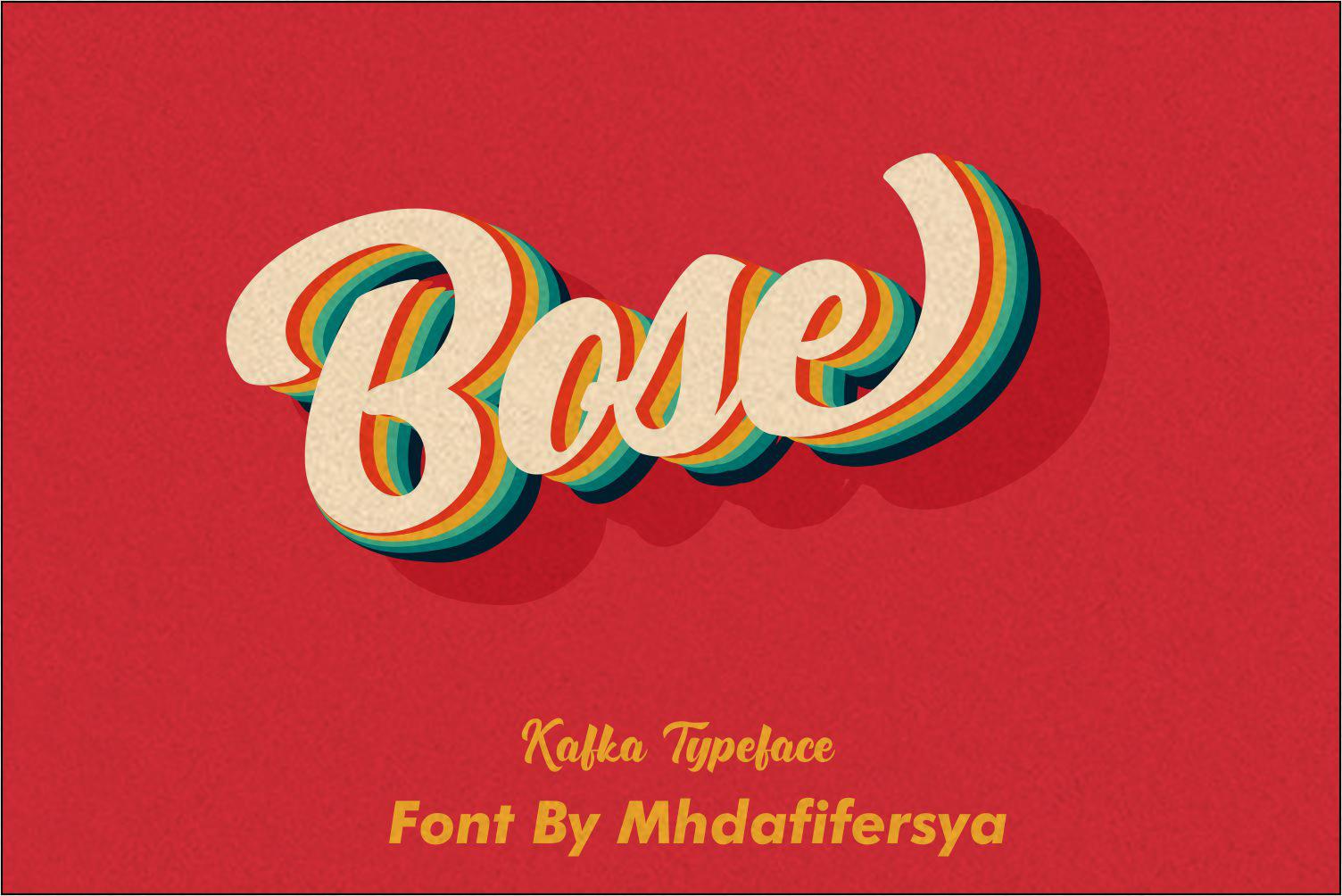 Kafka Typeface Updates example image 20