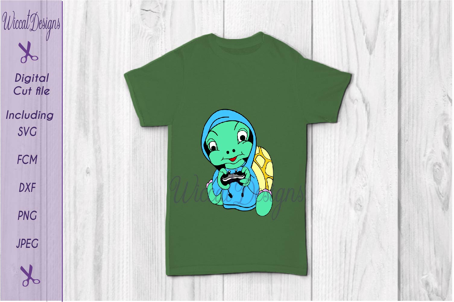 Turtle svg, gaming svg, kids shirt svg, hoodie svg, vinyl cut file example image 3