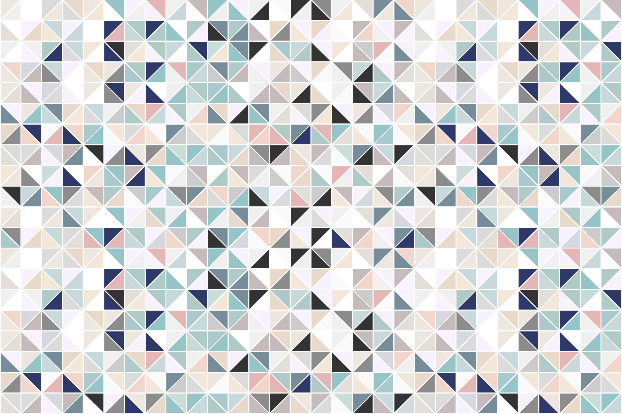 Swatches of mosaic seamless patterns example image 7