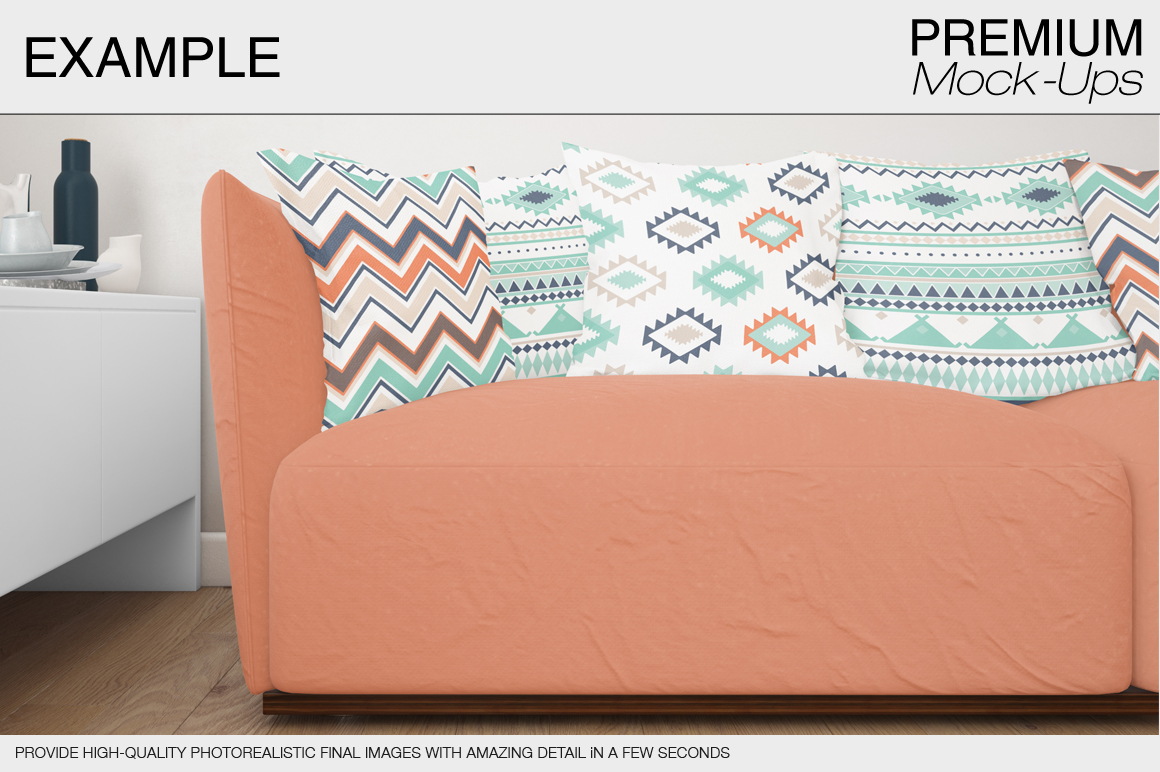 Pillow Mockup Set example image 14