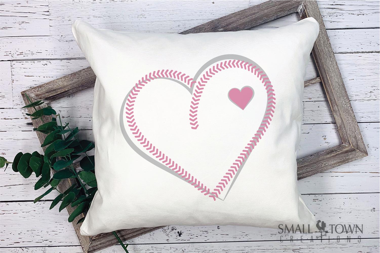 Baseball, Softball, Stitches, Team, PRINT, CUT & DESIGN example image 3