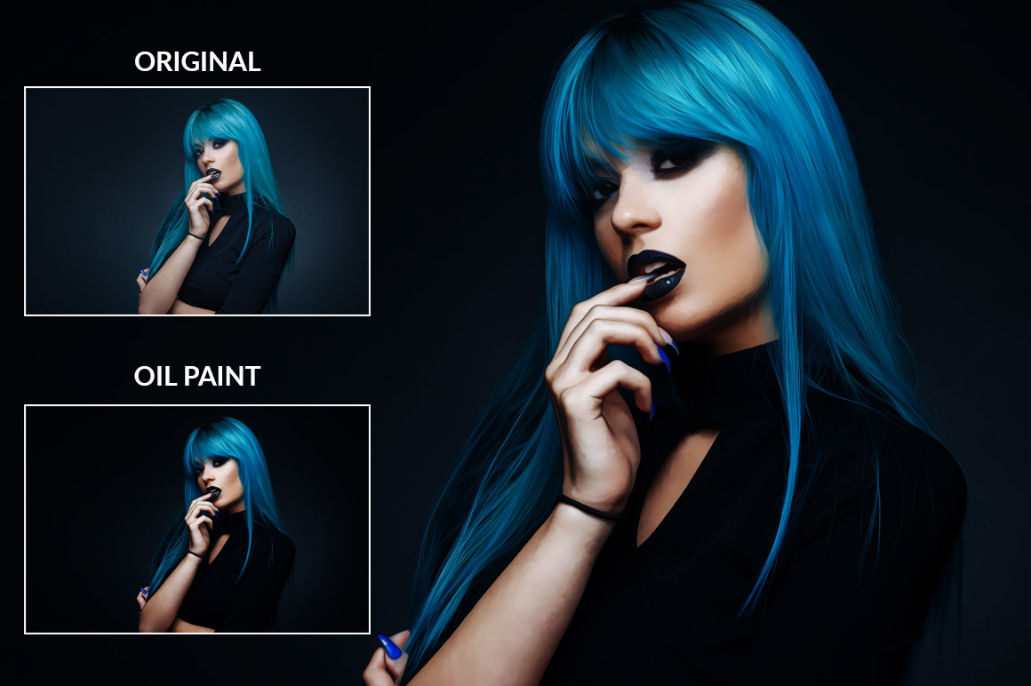 Oil Paint Photoshop Action example image 2