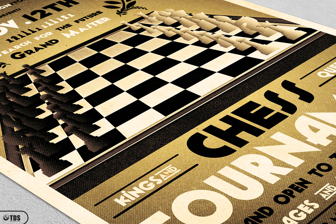Chess Tournament Flyer Template example image 5