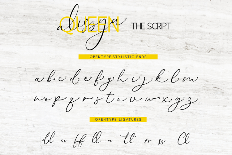 The Queen Alissya Font Duo example image 8