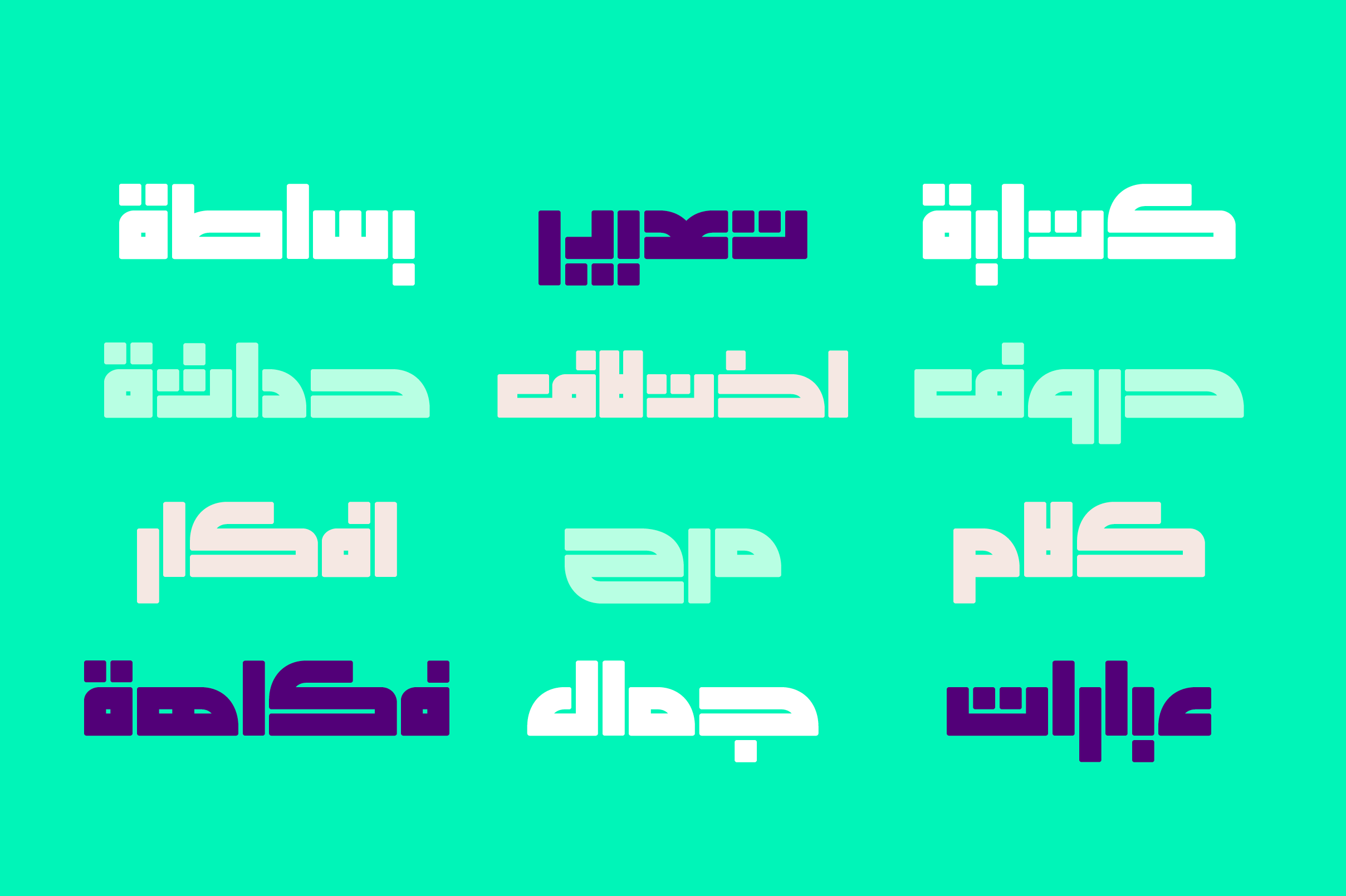 Enferad - Arabic Font example image 7