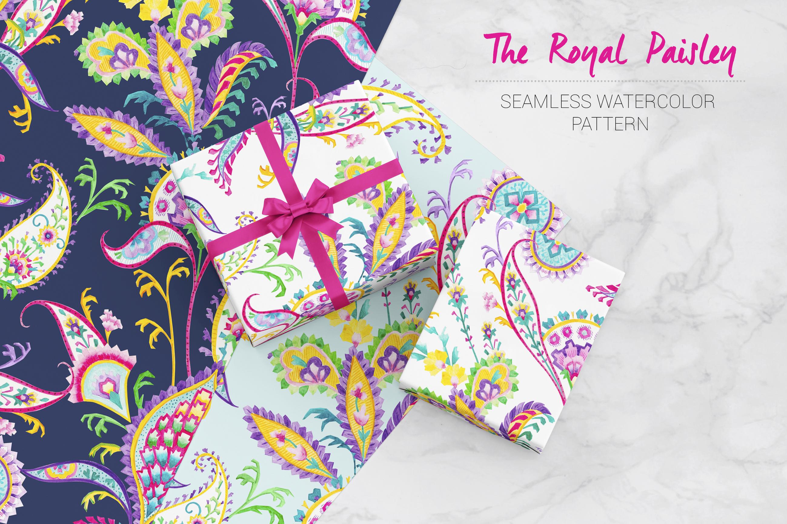 Royal Paisley example image 7