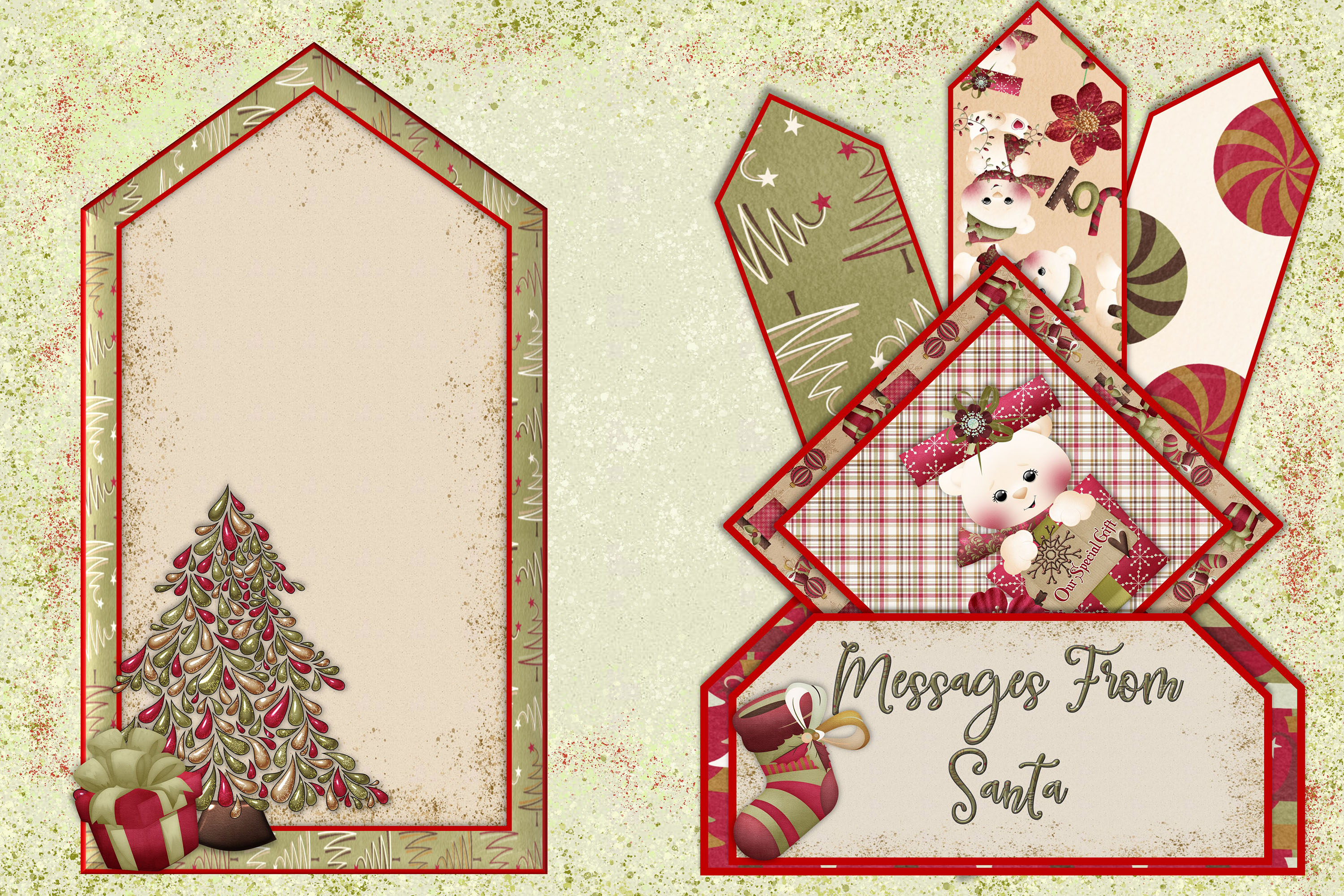 Christmas Journal Kit JPEG, PDF and PNG. Commercial Use example image 4