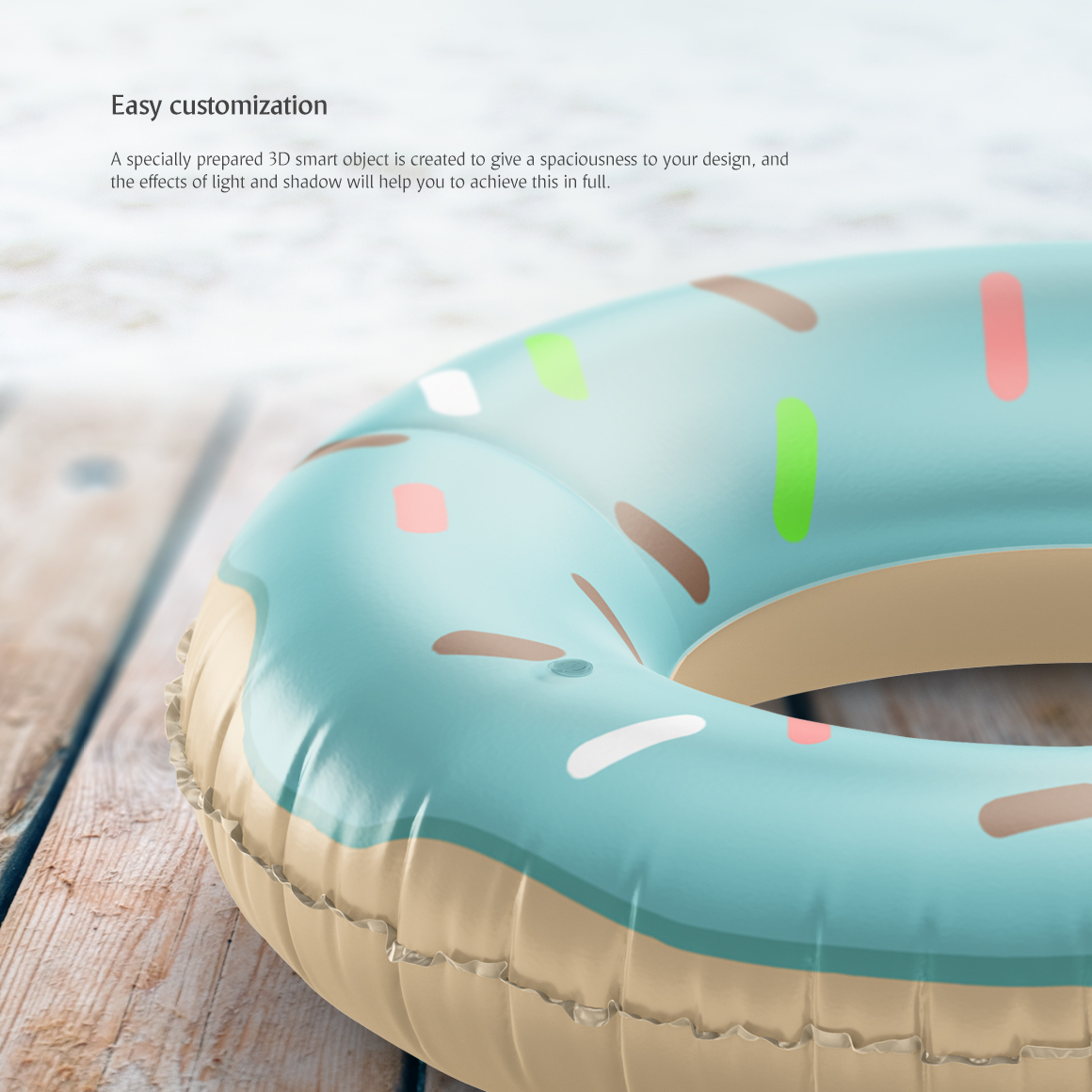 Swim Ring Mockup example image 3