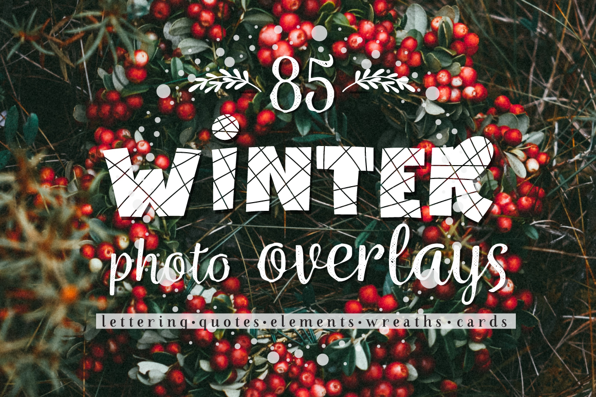 Winter and Christmas overlays example image 1