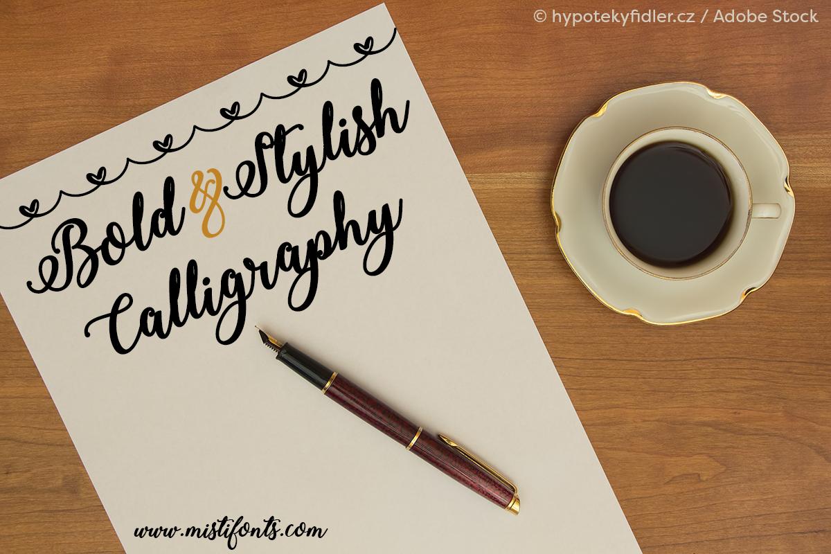 Bold & Stylish Calligraphy example image 1