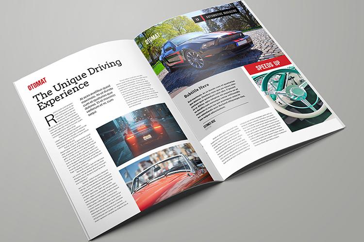 Automotive Magazine Template - Otomat example image 7