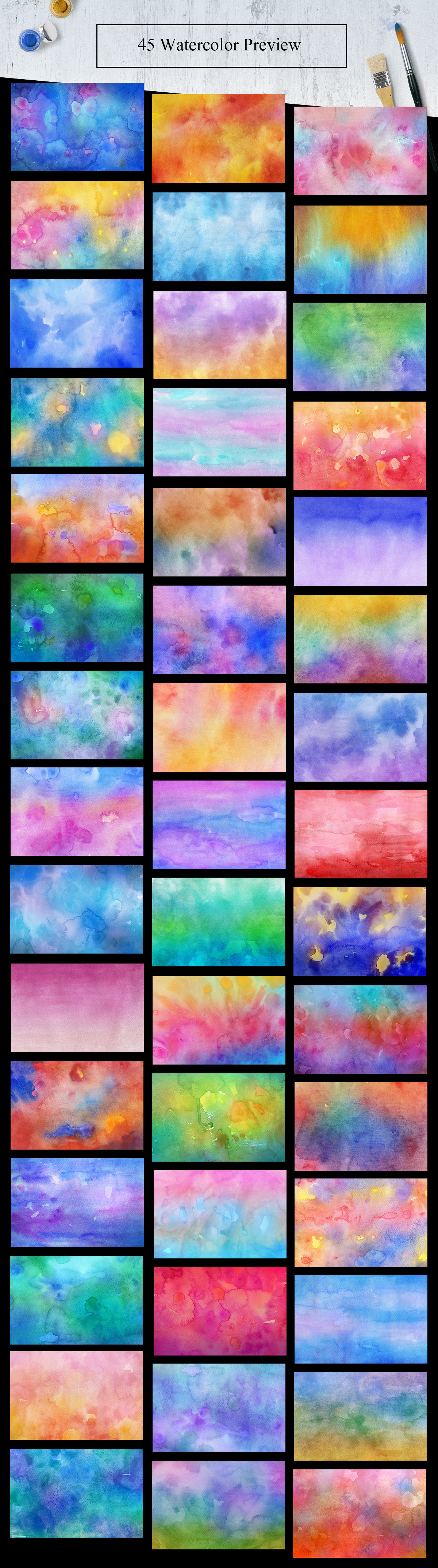 45 Watercolor Backgrounds example image 2