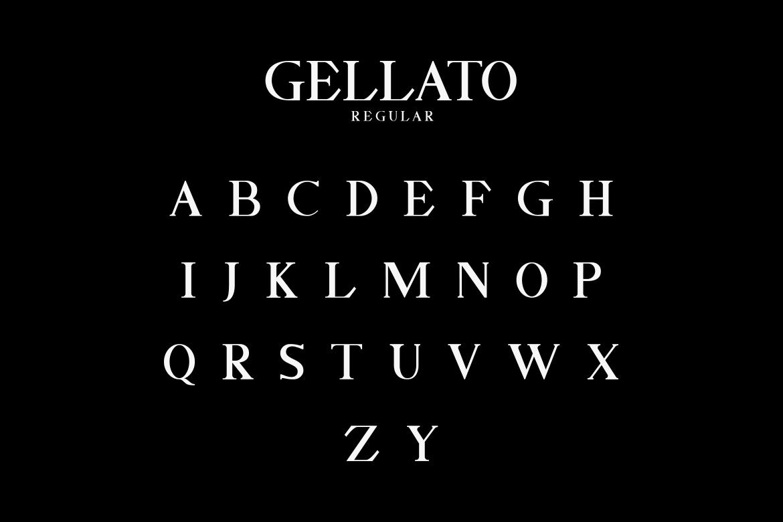 GELLATO // Modern Serif example image 2