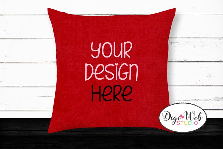 12 Valentine Mockups Bundle -Wood Signs, Pillows, Cards, Mug example image 11