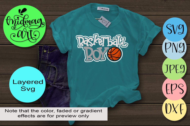 Basketball boy svg, basketball svg example image 1