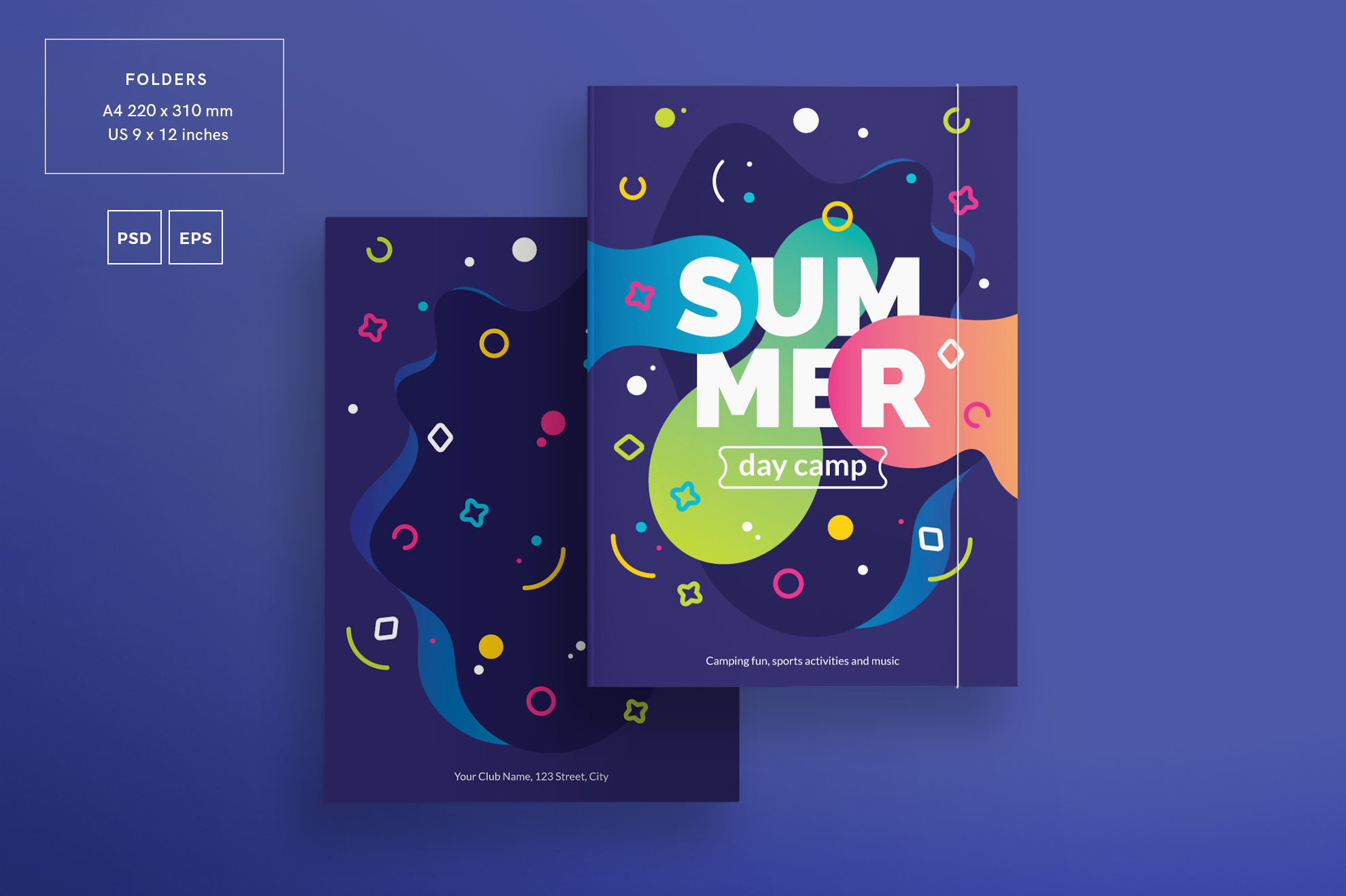 Summer Day Camp Design Templates Bundle example image 6