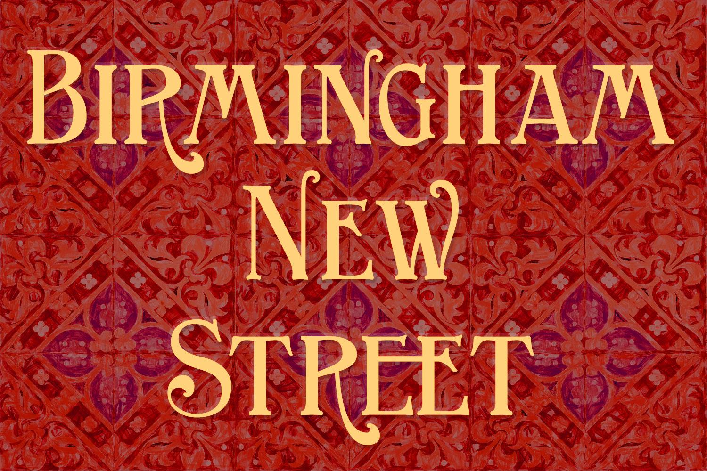 Birmingham New Street Family example image 1