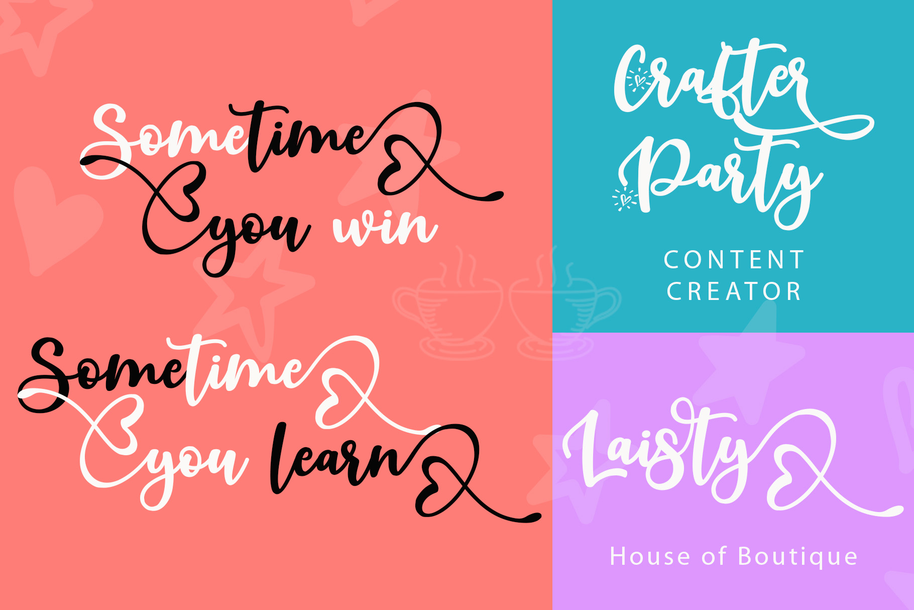 Beauty Dina | Beautiful Brush Script Font example image 4