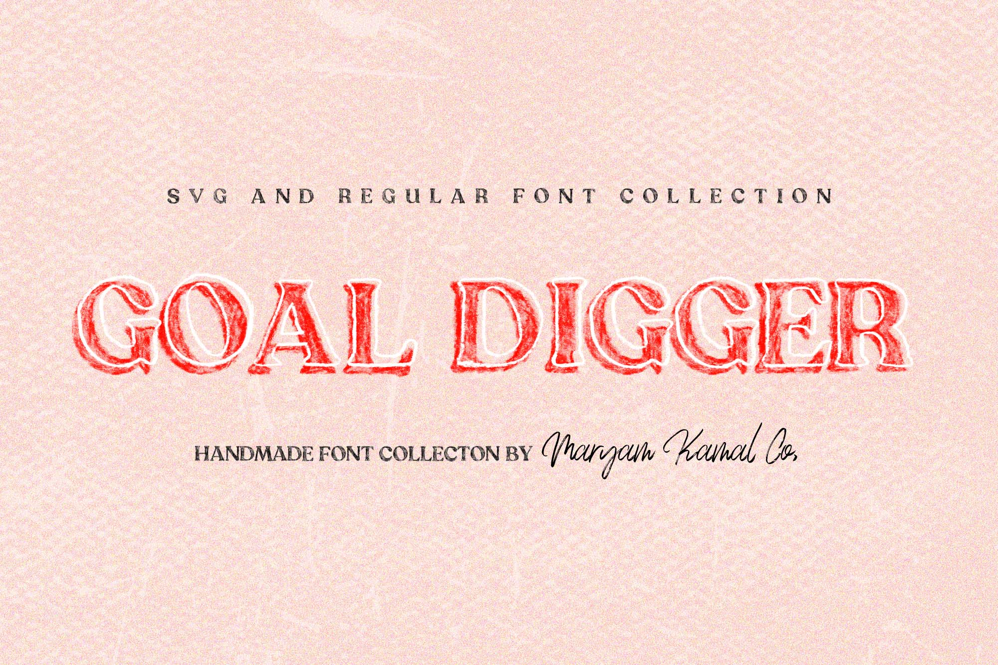 Goal Digger Font Collection example image 1