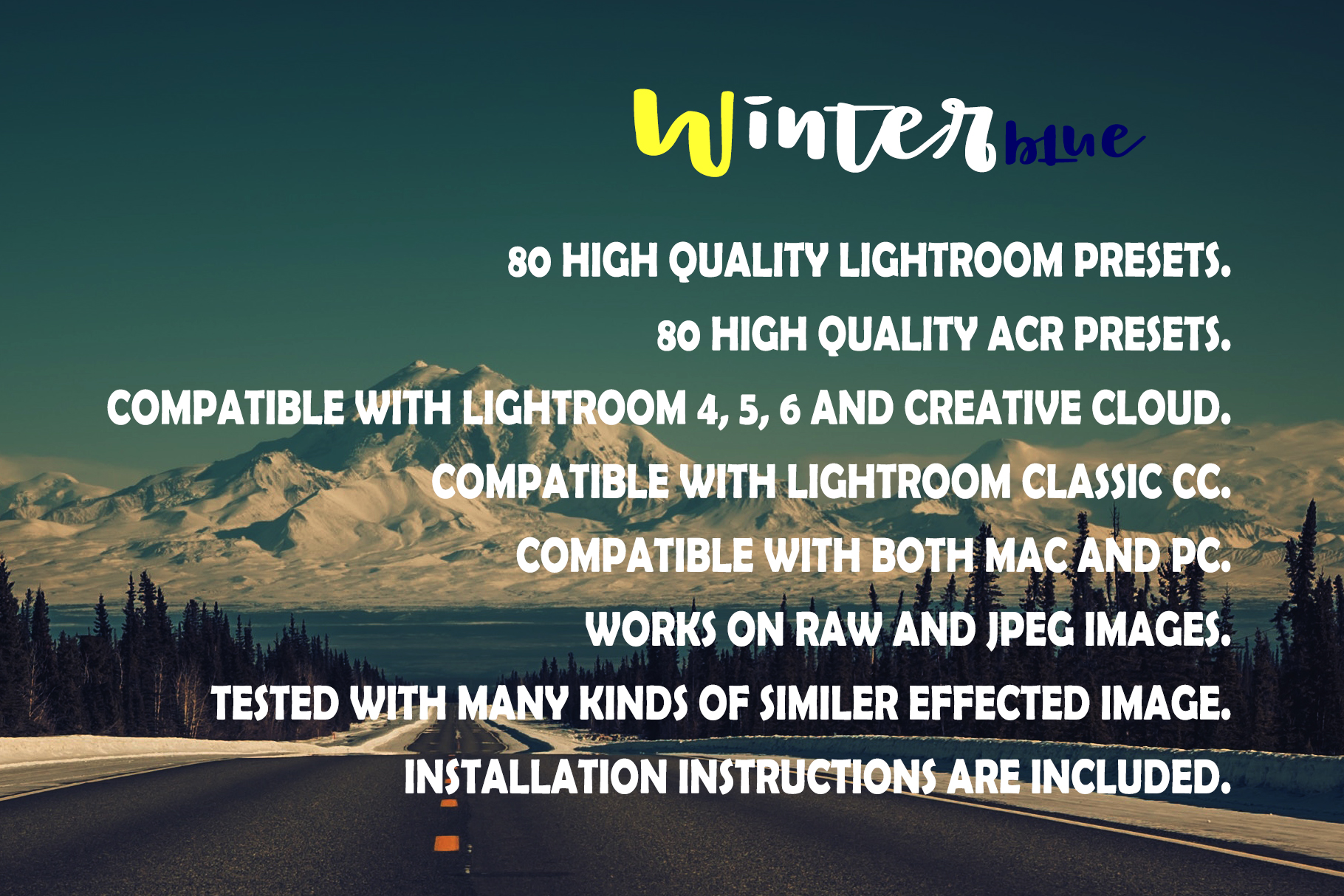 Winterblue Lightroom 80 and ACR 80 Presets example image 13