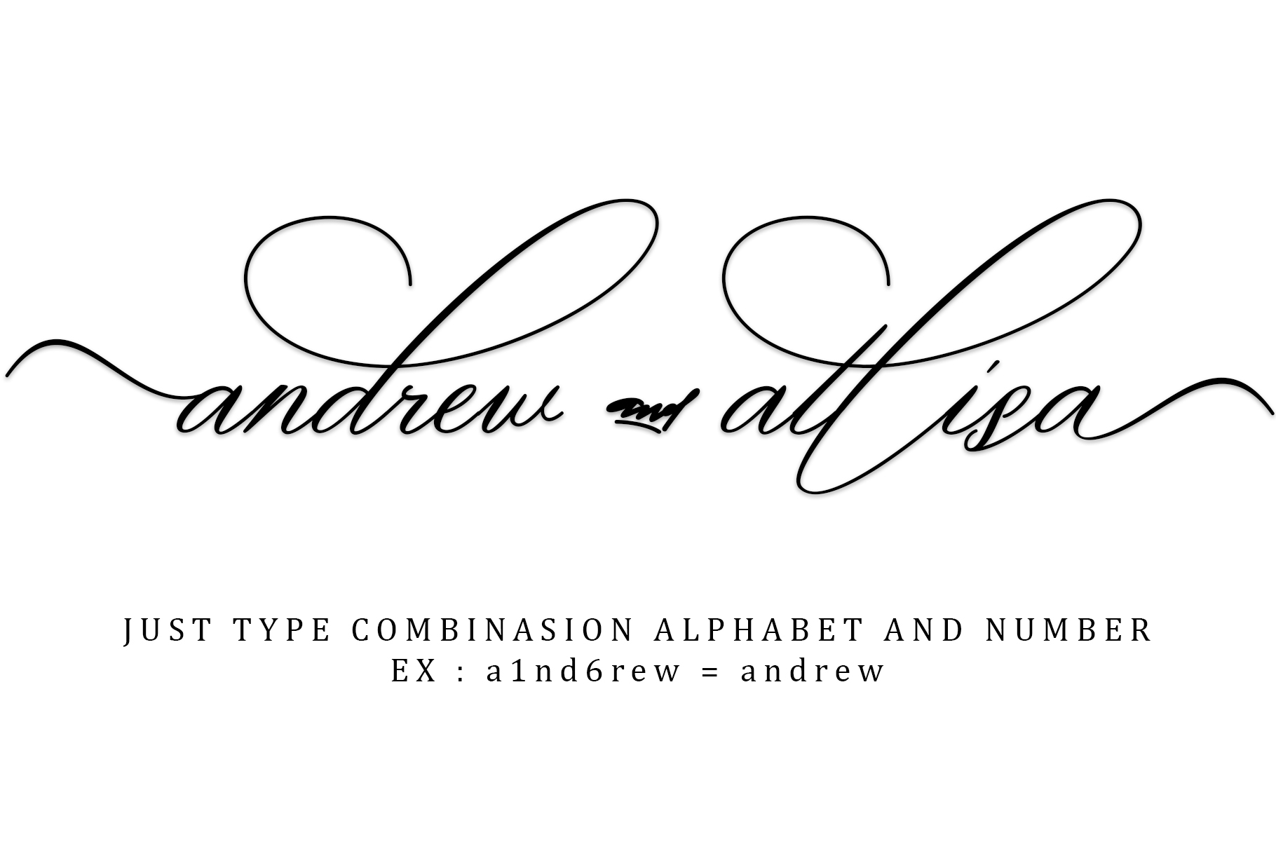 oklahoma calligraphy font example image 9