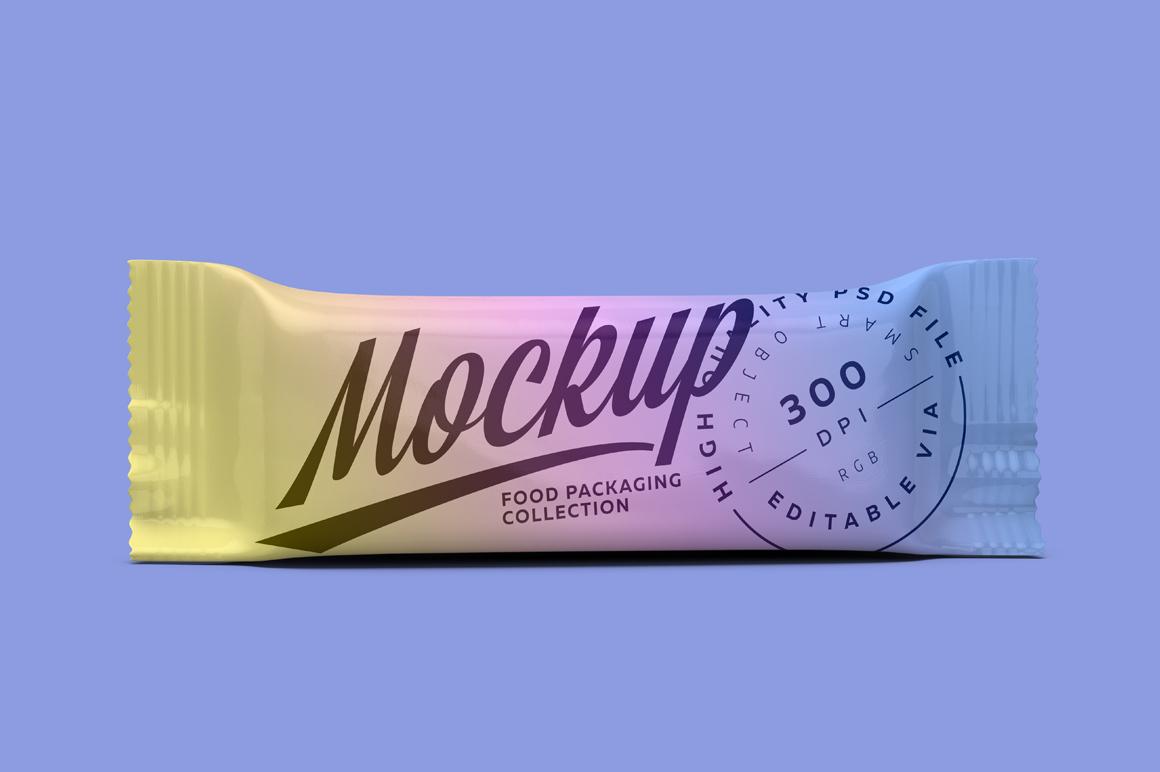 Mockup Snack Bars Box of 10x40g example image 2