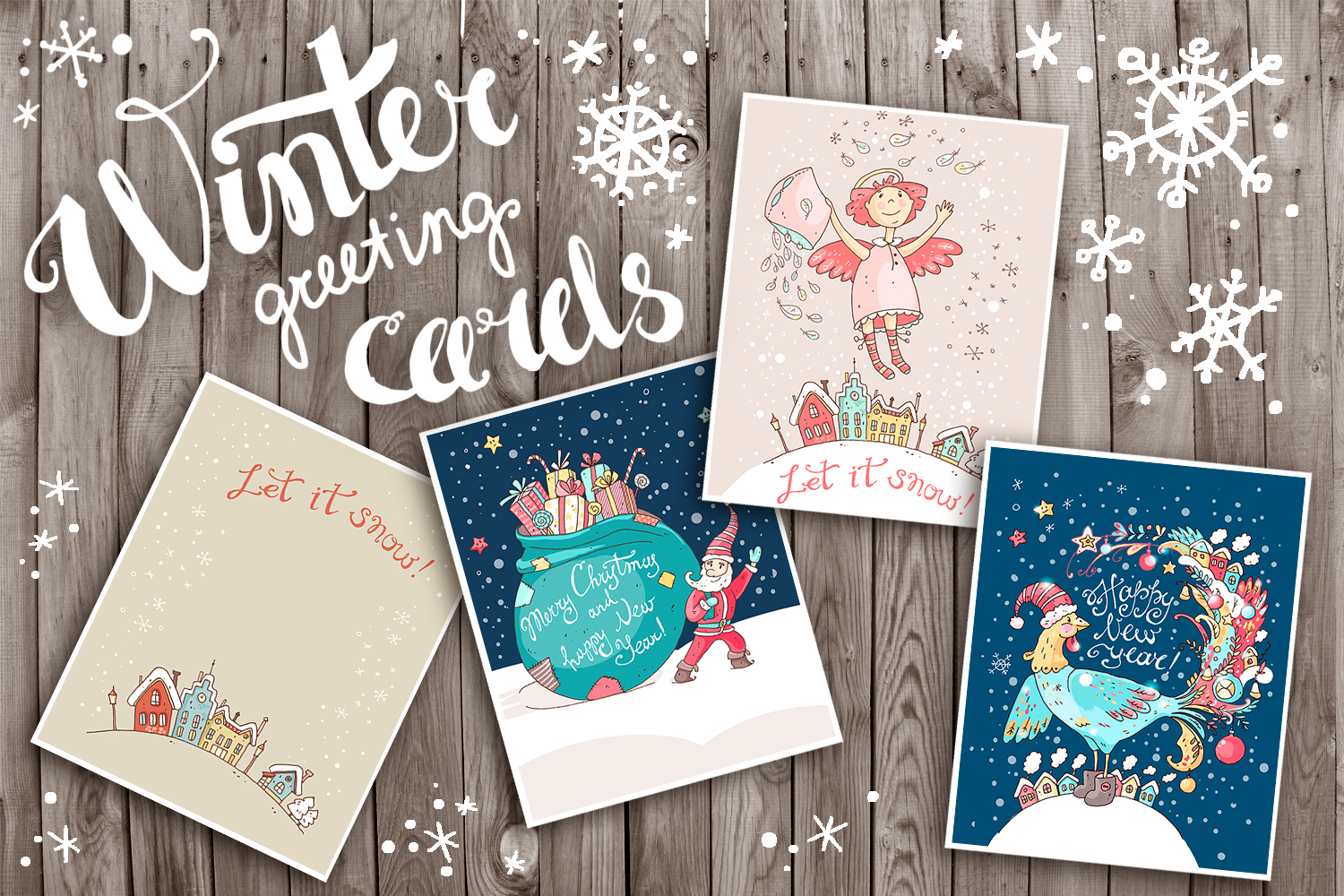 Winter Greeting Cards example image 1