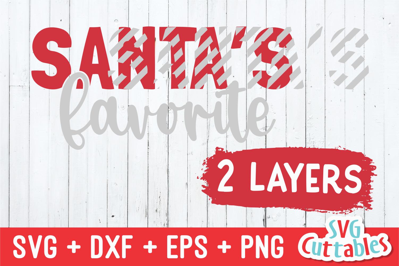 Santa's Favorite | Christmas SVG Cut File example image 2