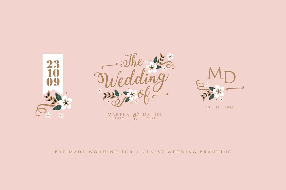 Monaco Wedding Set example image 3
