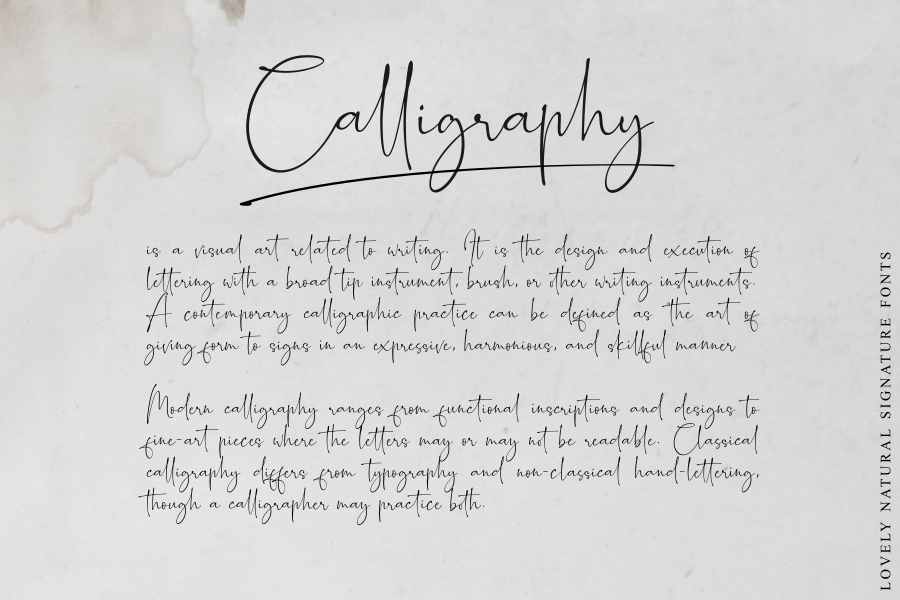 Romantically - Lovely Signature - example image 11