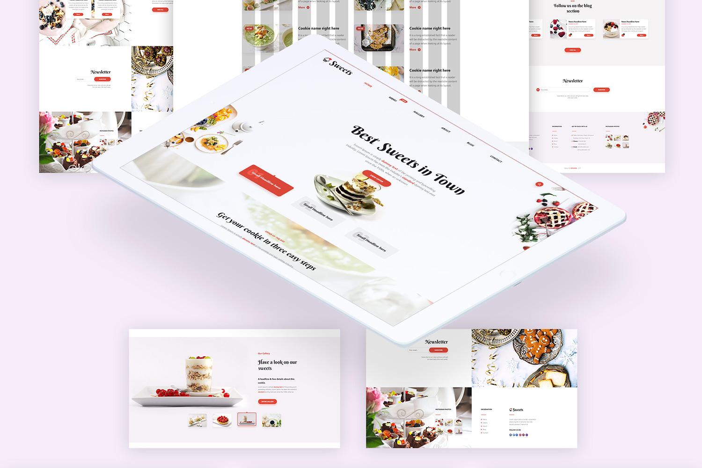 Sweets Ui Kit example image 3