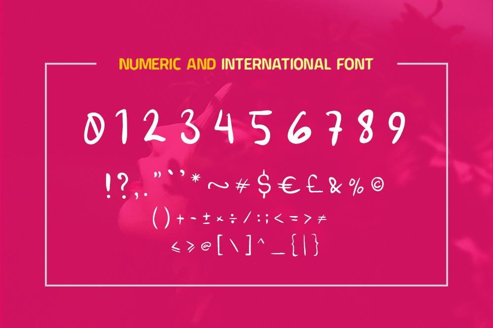 Roseline Script Font example image 7